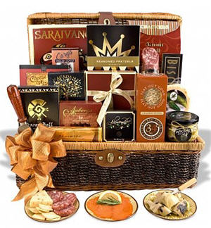 Send Madison Avenue Gift Basket to USA