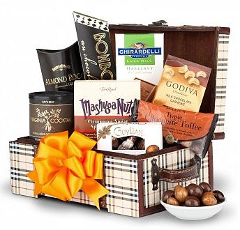 Send Chocolate & Nuts Delight to USA