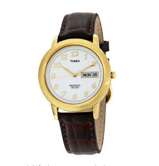 Send Timex Men's Classic Gold-Tone Watch  to USA