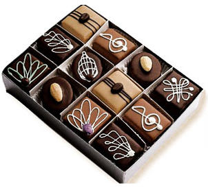Send Chocolate Petits Fours to USA