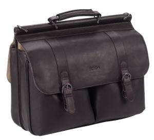 Send Solo Leather Laptop Portfolio (Espresso) to USA