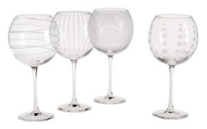 Send Mikasa Cheers Balloon Wine Goblet, Set of 4 to USA