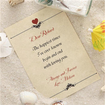 Send Love Letter in a Bottle to USA
