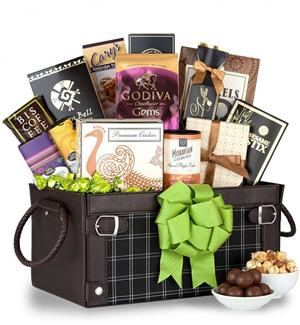Send Savory Sensations Gift Basket to USA