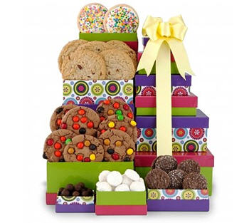 Send Premium Cookie Tower to USA